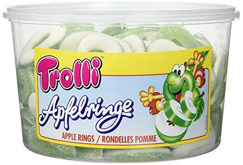 Trolli Apfelringe sauer, 2er Pack (2 x 1.2 kg)