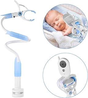 iKALULA Soporte para Cámara de BebésSoporte Flexible para Cámara de Bebé Universal Ajustable Soporte para Monitor de Bebé de Video Compatible con la Mayoría de Vigilabebés y TeléfonosIncluye Velcro