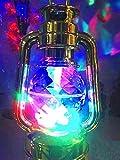 A2Z, GOLDEN Lantern Rotating DJ DISCO LED Light Lamp for Home Diwali decoration