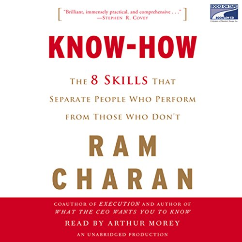 Know-How audiobook cover art