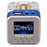 Andoer Mini Digital Andoer portatif de musique MP3 / 4 Player Micro SD / TF USB Radio FM Disk...