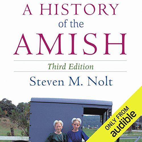 A History of the Amish audiobook cover art