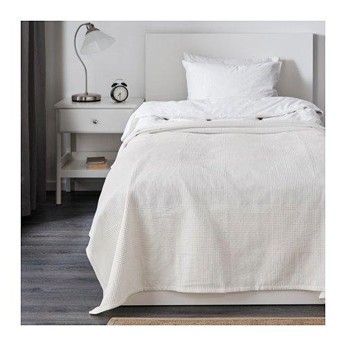IKEA Tagesdecke, weiß, 149,9x 248,9cm