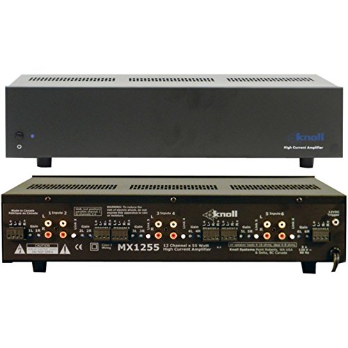 Buy KNL MX1255 New 55W 12-Channel Multiroom Amp Consumer Electronics