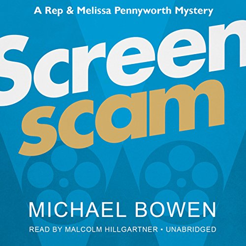 Screenscam audiobook cover art