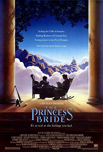 The Princess Bride Movie POSTER 27 x 40 Cary Elwes, Mandy Patinkin, A, MADE IN THE U.S.A.