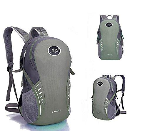 Extérieur élégant portable sac à dos sac à dos sac à dos de vélo , green