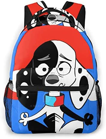 101 Casual Dalmatian Backpack Street Theme Pattern Casual Backpack Multi Function Travel Bag product image