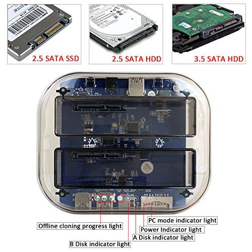 Tcmebius TCC-S866 - Estación de acoplamiento para disco duro ...