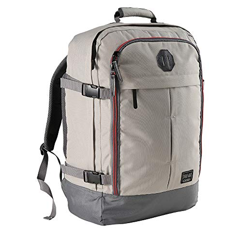 Cabin Max Metz Travel Backpack| Hand Luggage Flight Bags Cabin Bags 55 x 40 x 20 (Vintage Stone Grey)