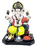 Ganesh Statue 13 Inches | Ganpati | Ganesha chaturthi idol | Figurine | Murti with amazing attention to details