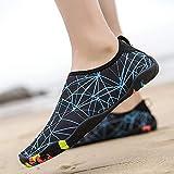 Zapatos de Surf,Par de Zapatos para Correr de Secado rápido Antideslizantes para natación al Aire Libre-Lake Blue_42,Escarpines de Playa