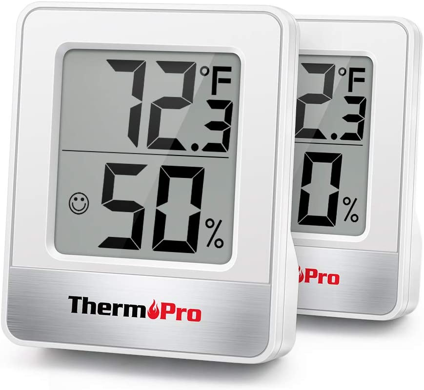 ThermoPro TP49 2 Pieces At the price of Super special price surprise Digital Thermometer Indoor Hygrometer Hu