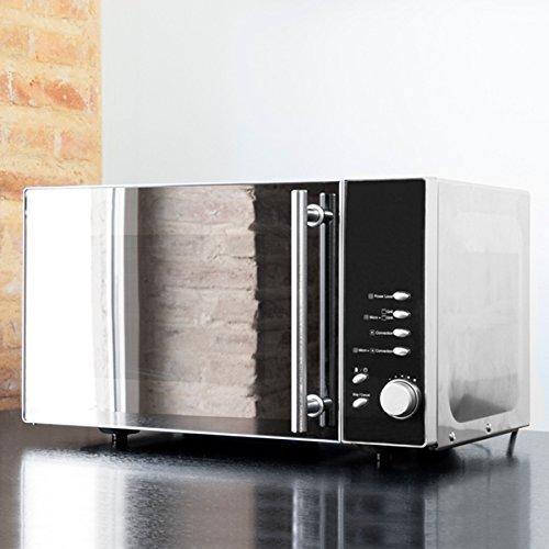 qtimber Microondas 3 en 1 con Horno de Convección y Grill Cecomix 1365 31 x 43.5 x 52 cm forno a microonde, microonde