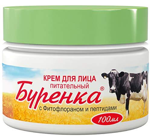 Pflegende Gesichtscreme Burenka, mit Peptide und Fitofloranom, 100ml