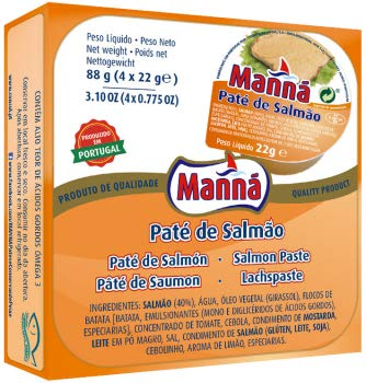 Manná, Lachspastete, 4 x 22 g