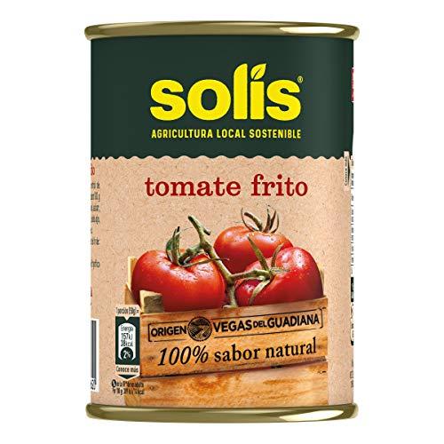 Bote de tomate troceado marca Éxito 390 g.[PACK 24 UNIDADES]