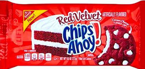 NEW Chips Ahoy! Red Velvet Filled Soft Cookies 9.6 Oz (1)