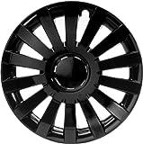 ALBRECHT automotive 49267 Tapacubos Wind 17' pulgadas, 4 Unidades, Negro Plus