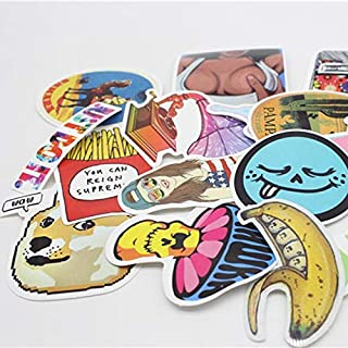 Handbag Unicorn - Pvc Waterproof Fun Sticker Toys The Luggage Stickers Handbag Decoration 50 60 100pcs - Living Butterflies Boys Large Stickers Teens Envelopes About Bears Scrapbook Birthda
