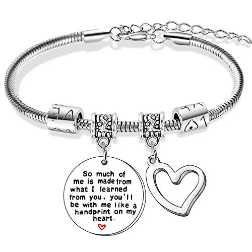 Teacher Bracelet Teacher Appreciation Gifts Bracelets For Women Graduates Thank You Gifts for Teachers (So Much of)