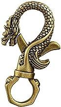 Mini Brass Retro Faucet Keychain Statue Ornaments, Pure Copper Metal Waist Padlock Keychain, Portable Key Chain for Home/O...