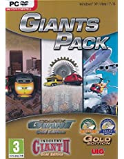 Traffi Giant: Gold Edition/Industry Giant Ii: Edition/Transport Edition Pc Dvd