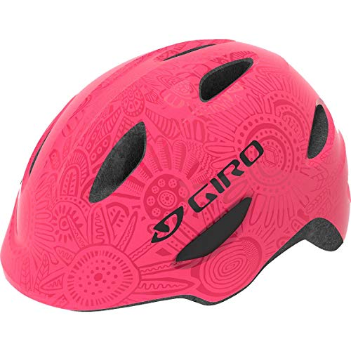 Giro Unisex Jugend Scamp Fahrradhelm Youth, Bright pink/Pearl, XS