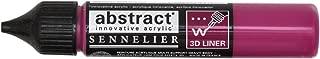 Sennelier Abstract Acrylic Liner, 27ml, Deep Magenta, (10-121301-671)