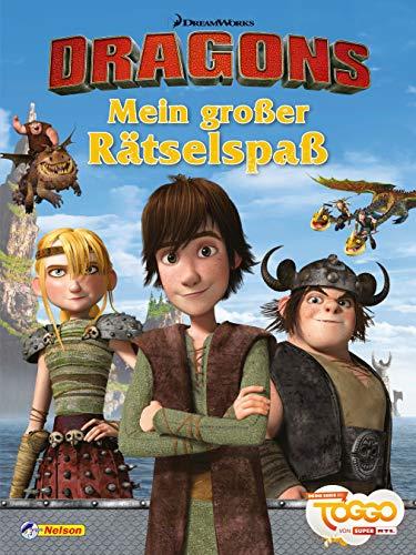DreamWorks Dragons: Dreamworks Dragons: Mein großer Rätselspaß