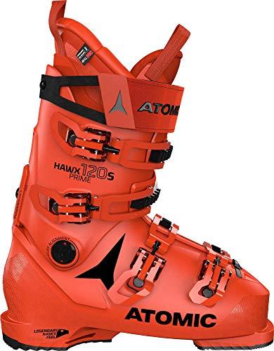 ATOMIC HAWX Prime 120 S, Botas de esquí Unisex Adulto, Red/Black, 45 EU