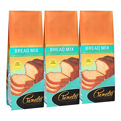 Pamela's Products Gluten-Free Bread Mix -- 19 oz (Pack - 3)