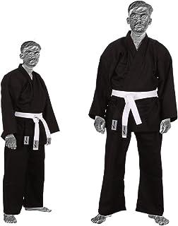 TurnerMAX Karate Suit Negro 8 oz de algodón con cinturón