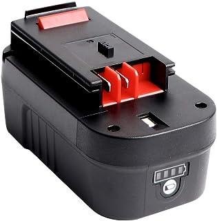 Sanke - Batería de repuesto para batería de ion de litio de 3000 mAh y 18 V para batería negra y decker de 18 V HPB18 HPB18-OPE 244760-00 A1718 FS18FL FSB18 Firestorm Black y Decker de 18 V