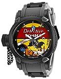 Invicta Men's DC Comics Quartz Watch with Stainless Steel Strap, Black, 26 (Model: 29349)