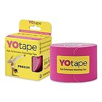 YOtape キネシオロジーテープ プレカット アスレチックテープ 女性 アスリート スポーツ テープロール ケガの治癒と予防に