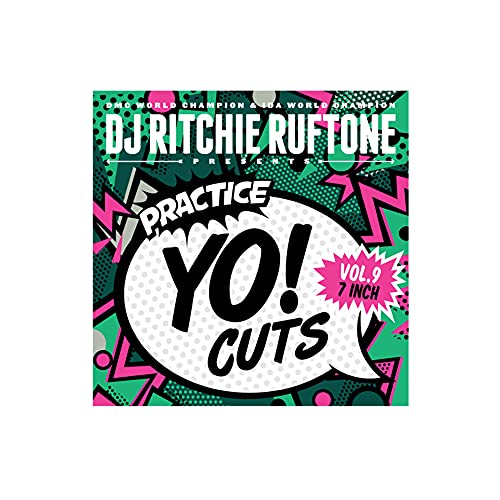 7 INCH Practice Yo! Cuts VOL 9 Vinyl is perfect for your Numark PT01 Scratch or your Reloop Spin Portable Turntable