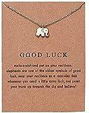 elegante animal collar collar elefante libélula mariposa flor collar colgante collar glamour amigo regalo elefante regalo collar