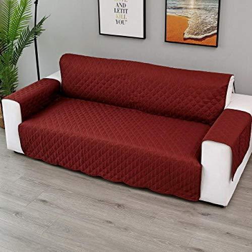 Fundas de sofá Elásticas de repelentes al Agua ,Funda de sofá para sofá, manta de silla, protector de muebles para alfombrilla para perros y niños, fundas de reposabrazos extraíbles lavables rev