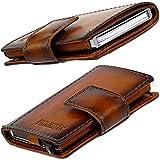 Figuretta Premium Leder RFID Geldbörse London - Praktisches smart Wallet mit Aluminium...