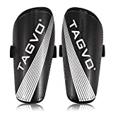 TAGVO Soccer Shin Guards, Kids Youth Lightweight Soccer Equipment with Adjustable Straps, Great