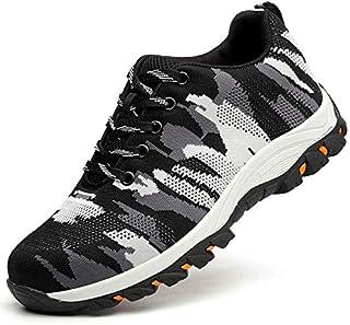 Chaussures de sécurité, légères et respirantes, chaussures de sécurité en couleur, antidérapantes, résistantes à l'usure