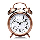 DNC ENTERPRISE Alarm Clock Twin Bell Alarm Clock – Perfect for Heavy Sleepers/Loud Bell Alarm...