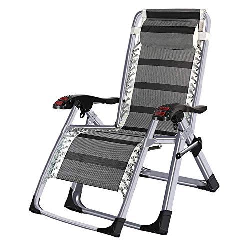 YLCJ Opvouwbare ligstoel eettafel voor draagbaar kantoor Multifunctionele strandstoel Tuinstoel Zonnebed (kleur: B) B