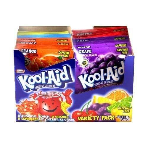 25 Sorten Kool-Aid Ihrer Wahl aus den USA