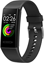 Fitness Tracker with Heart Rate Smart Watch V100s, Screen Activity Tracker with Blood Pressure Multi-Function Sport Tracker Waterproof Activity Tracker, Swipe Screen Function