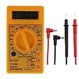 Mmsww Multimetro Digitale, Multimetro, Funzione (Resistenza, Corrente CC, Tensione CA, Batteria, Tensione CC, Corrente CA), Strumento Multifunzione Domestico,