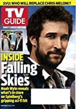 TV Guide July 4 2011 Noah Wylie/Falling Skies on Cover, Law & Order: SVU Who Will Replace Chris Meloni, Laura Linney/The Big C, Teen Mom, Franklin & Bash, Elijah Wood/Wilfred, Torchwood: Miracle Day