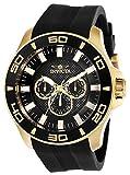 Invicta Men's Pro Diver Stainless Steel Quartz Watch with Silicone Strap, Black, 26 (Model: 28001)