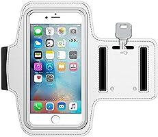 MMOBIEL Sport/Hardloop Armband (wit) Compatibel met iPhone 11 Pro/XS/X / 8/7 / 6S / 6